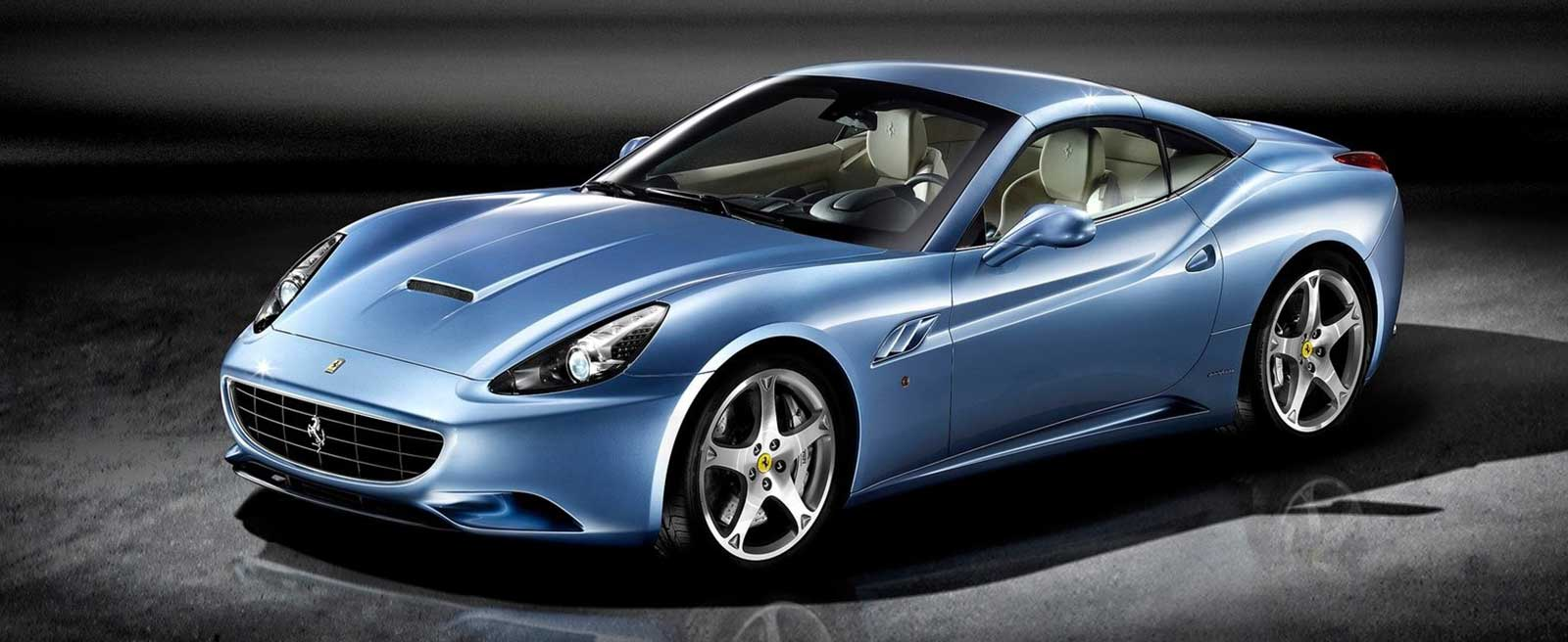 Badar Mansoor Trading | Ferrari sports car blue